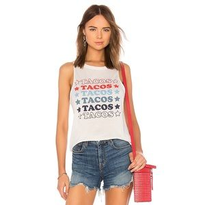 Chaser NWT Tacos Tank Top
